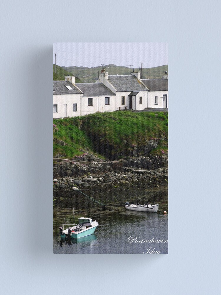 Alternate view of Portnahaven  Isle  of  Islay Canvas Print