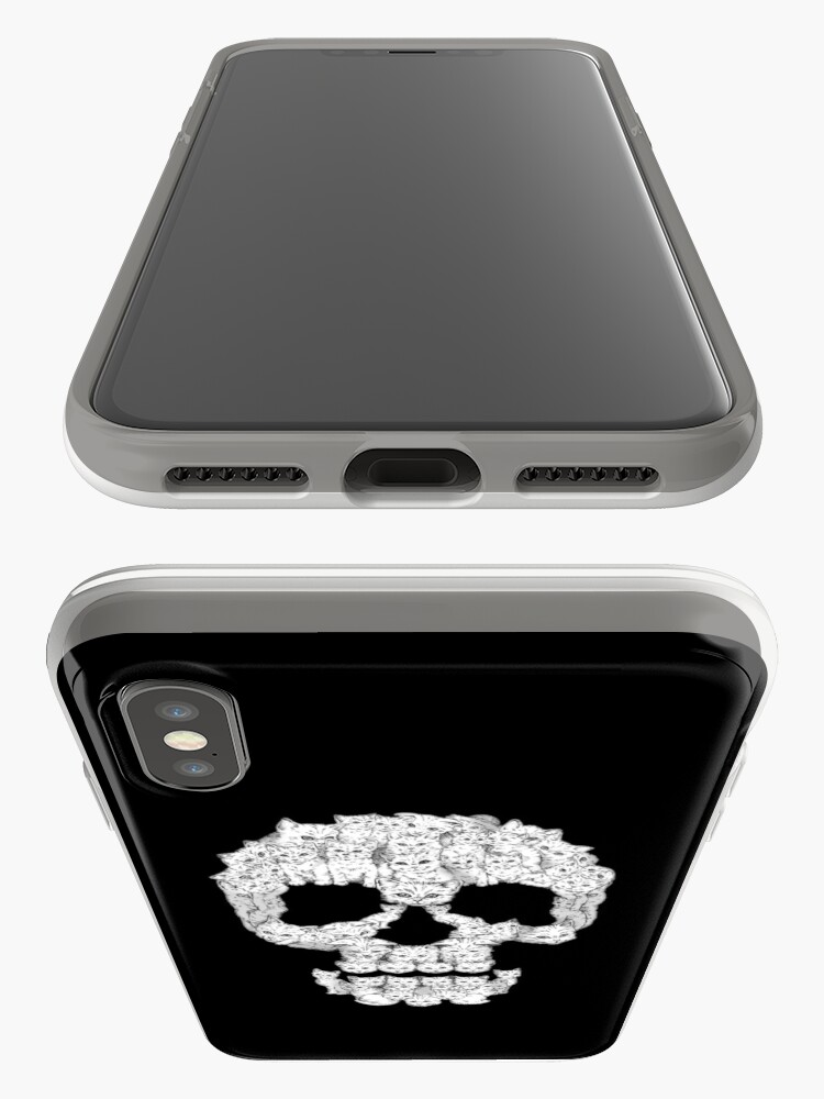 Alternate view of Skulls are for Pussies iPhone Case & Cover