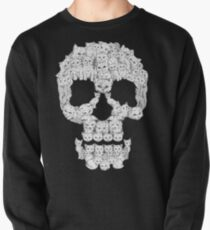 Skulls are for Pussies Pullover Sweatshirt