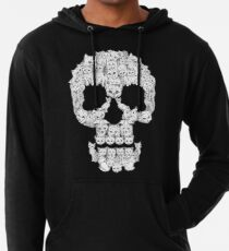 Skulls are for Pussies Lightweight Hoodie