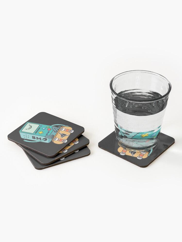 Alternate view of BMO Coasters (Set of 4)