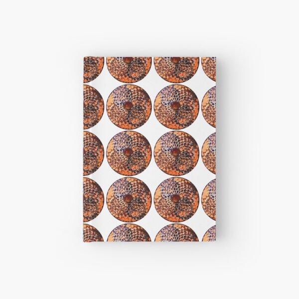 Honeycomb Mandala  Hardcover Journal