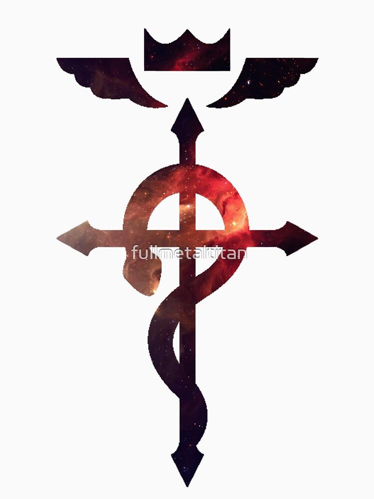 Space Alchemist || Fullmetal Alchemist logo | Unisex T-Shirt