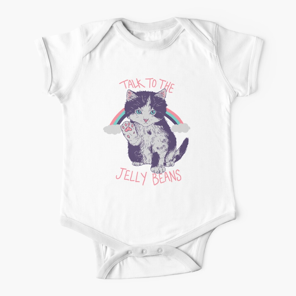Talk To The Jelly Beans Baby One-Piece