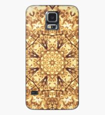 Gold Rush Mandala - Golden Ornate Art Deco Design Case/Skin for Samsung Galaxy