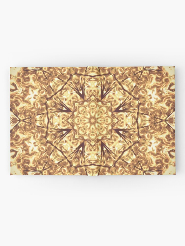 Alternate view of Gold Rush Mandala - Golden Ornate Art Deco Design Hardcover Journal