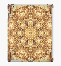 Gold Rush Mandala - Golden Ornate Art Deco Design iPad Case/Skin