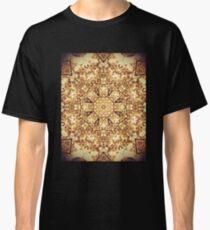 Gold Rush Mandala - Golden Ornate Art Deco Design Classic T-Shirt