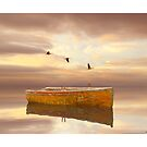 Drifting Boat by Carlos Casamayor