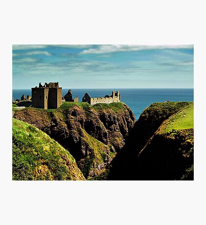 Dunnotter Castle In Scotland Photographic Print