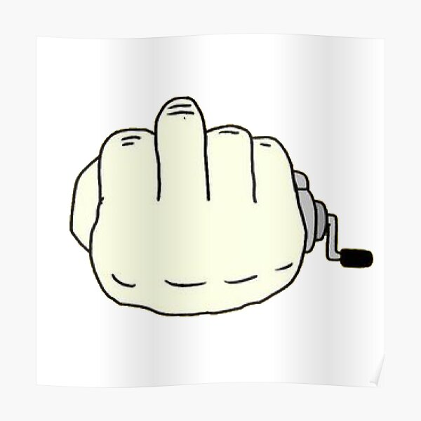 Carrete de dedo Póster