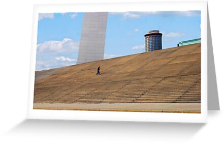 Steps to the Gateway Arch by barnsis