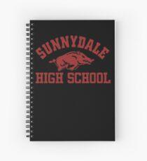 Sunnydale High Razorbacks Spiral Notebook
