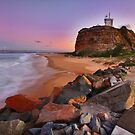 Nobby's Sunset by Throwing  Buckets Magazine