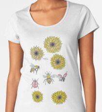 Sonnenbienen Frauen Premium T-Shirts