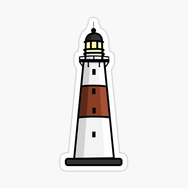 Montauk Lighthouse  Sticker