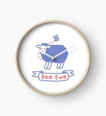 Bee Ewe Clock