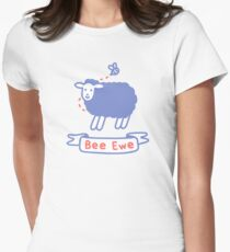 Bee Ewe Fitted T-Shirt