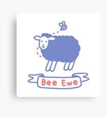 Bee Ewe Canvas Print