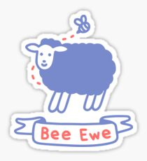 Bee Ewe Sticker