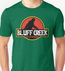 Bluff Creek Sasquatch Bigfoot T Shirt T-Shirt