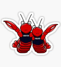 She's his lobster Sticker