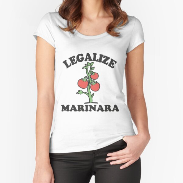 Legalize Marinara T-Shirt Fitted Scoop T-Shirt