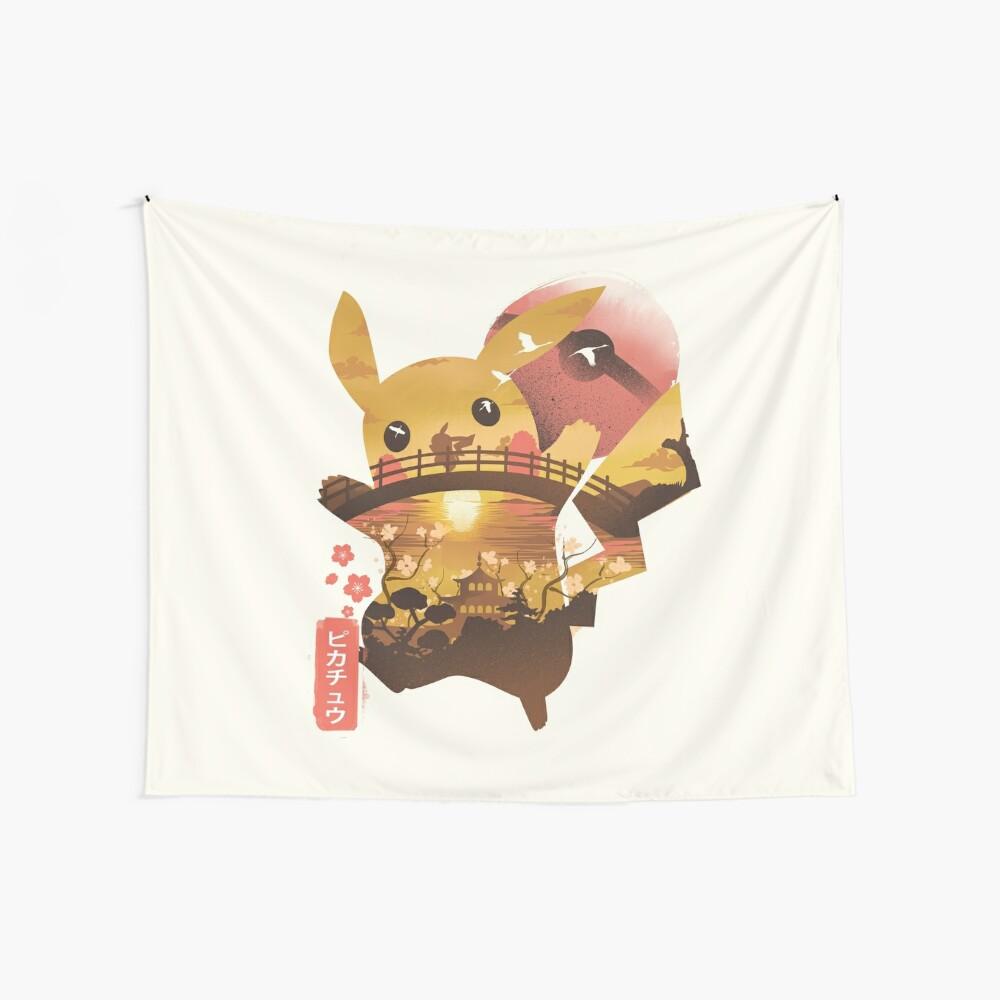 Elektrischer Ninja Wandbehang
