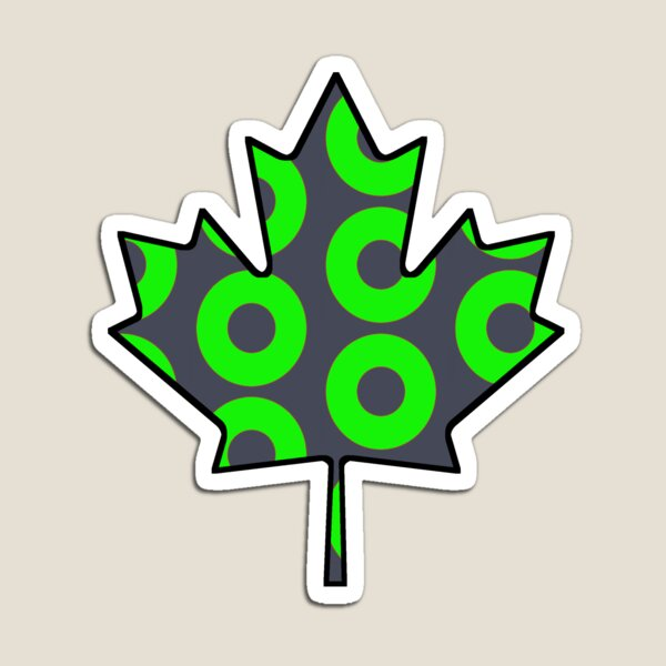 Maple Leaf Donut Mexico Magnet