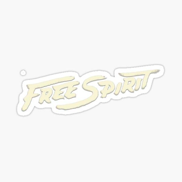 free spirit khalid Sticker