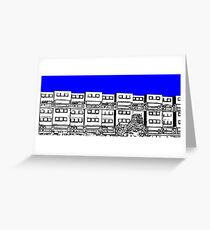 Ashfield Valley Flats, Rochdale Greeting Card