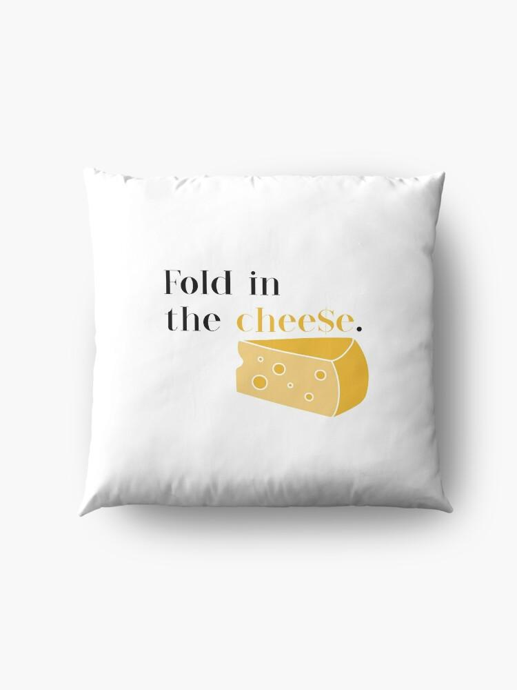 Alternate view of Schitt's Creek - Fold in the Cheese Floor Pillow