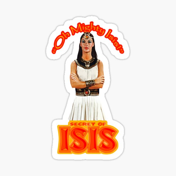 Oh Mighty Isis - Secrets of Isis Tribute Sticker