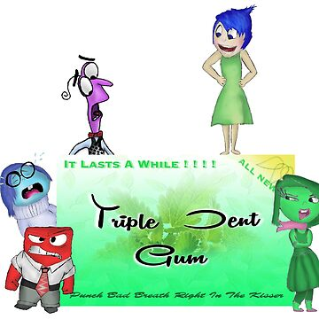 TRIPLE DENT GUM - INSIDE OUT  by JamesBengel