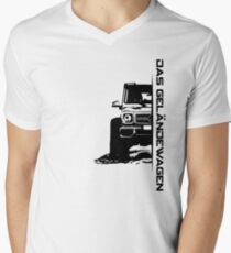 Das Geländewagen (6x6) Men's V-Neck T-Shirt