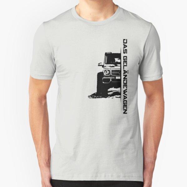 Das Geländewagen (6x6) Slim Fit T-Shirt
