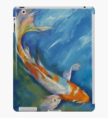 Yamato Nishiki Koi iPad Case/Skin