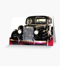 Cadillac Classic Greeting Card