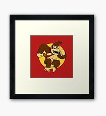 Attack of the Kong Framed Print