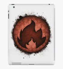 The Fire Types iPad Case/Skin