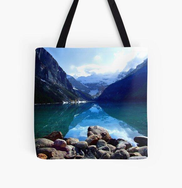 Lake Louise, Canada All Over Print Tote Bag