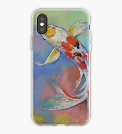 Butterfly Koi Fish iPhone Case