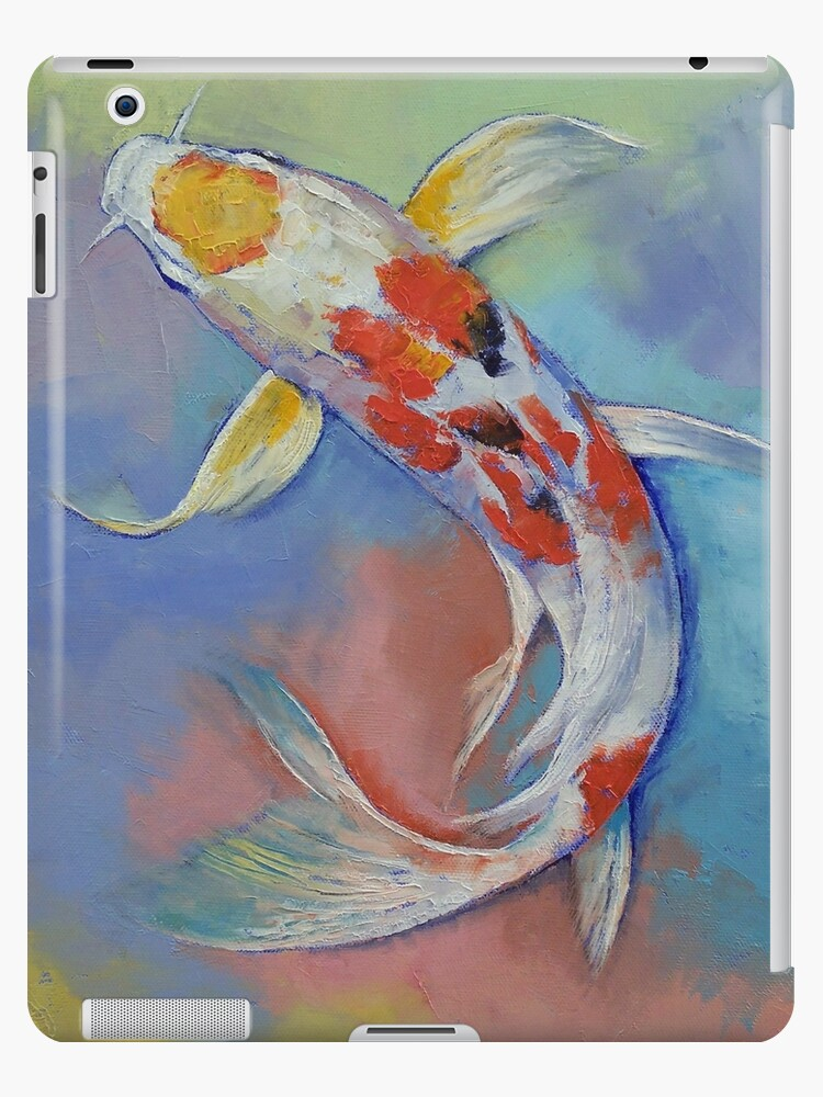 Butterfly Koi Fish Ipad Case Skin By Michaelcreese Redbubble