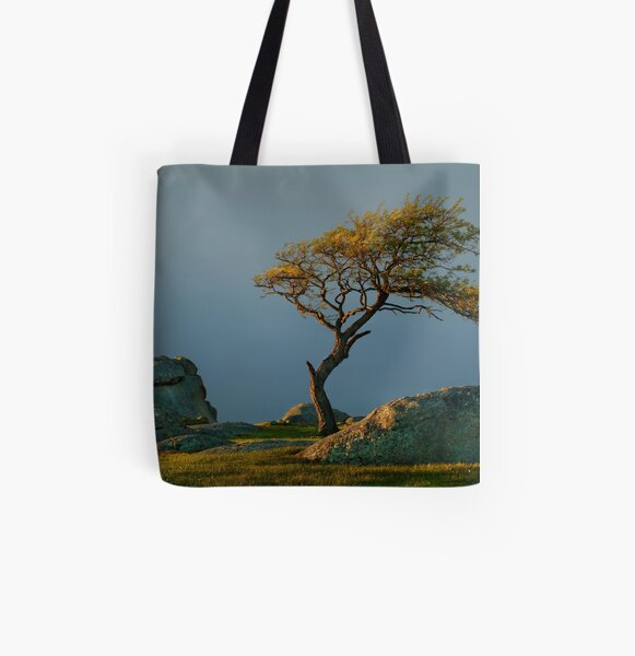 Dog Rocks, Batesford Victoria All Over Print Tote Bag