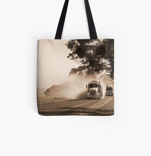 Bulldust Drive All Over Print Tote Bag