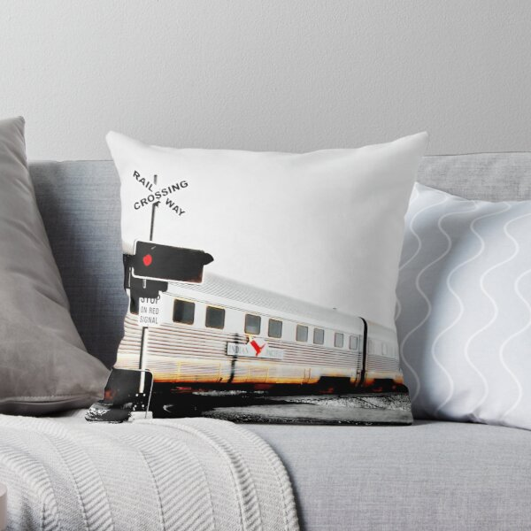 Indian Pacific Throw Pillow