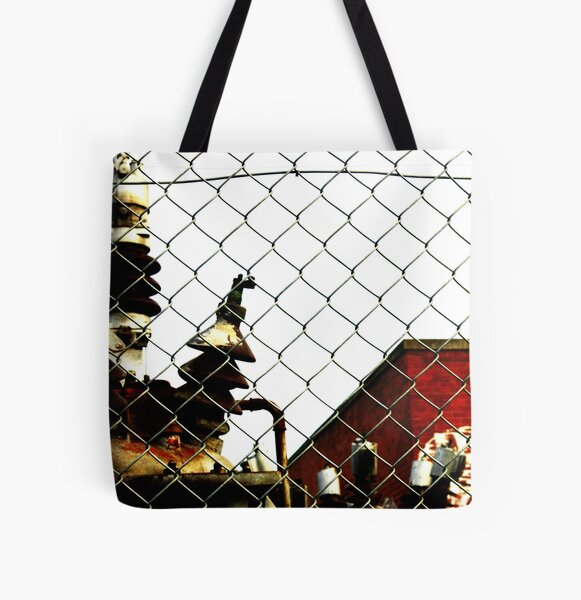 Fence All Over Print Tote Bag