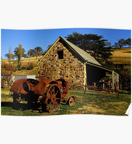 Carcoar NSW ~ Stoke Stables Museum Poster