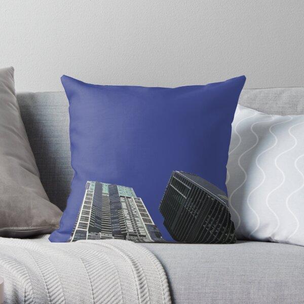 world tower Throw Pillow