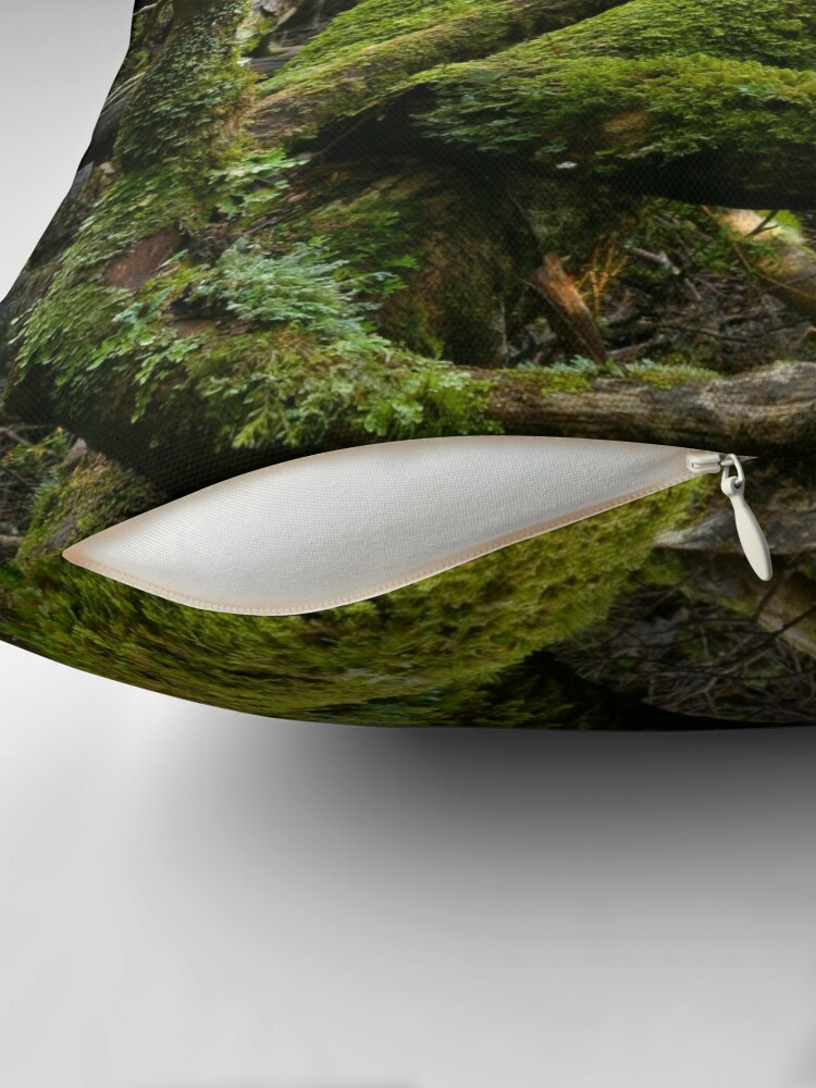 Alternate view of Forest jumble Throw Pillow